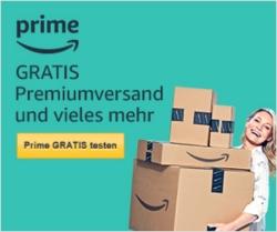 Jetzt Amazon Prime 30 Tage KOSTENLOS testen