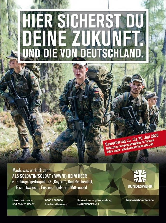 Banner Bundeswehr