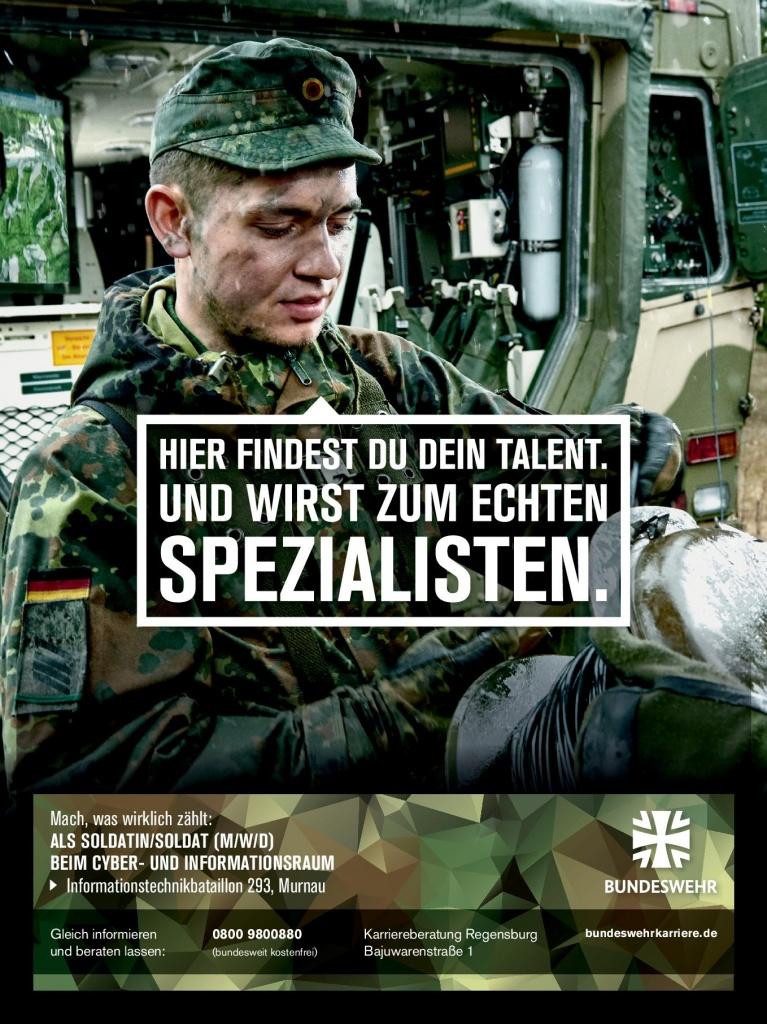 Banner Bundeswehr April 2020