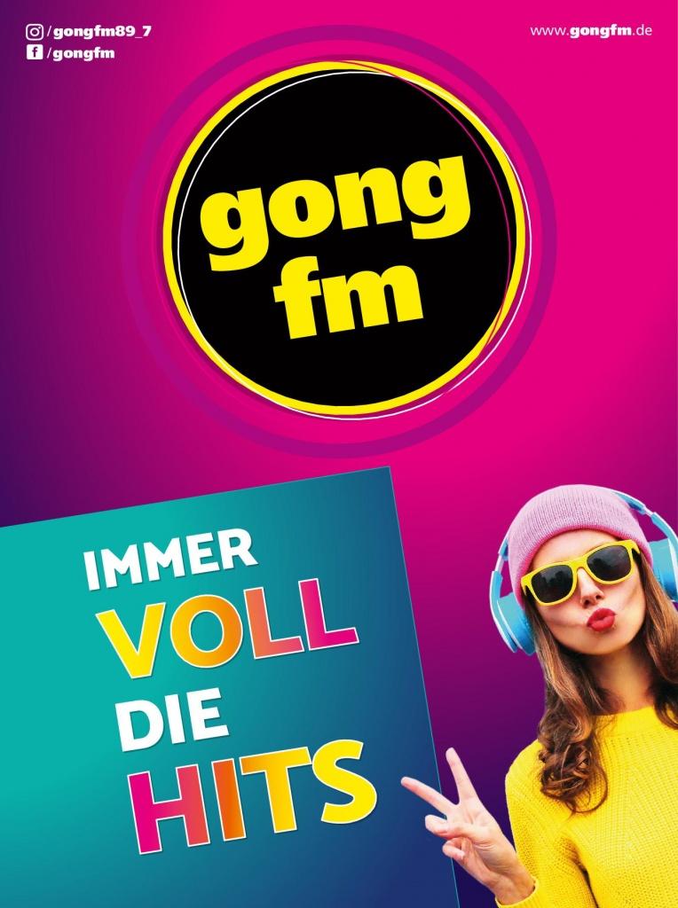 Banner Funkhaus Gong FM April 2020