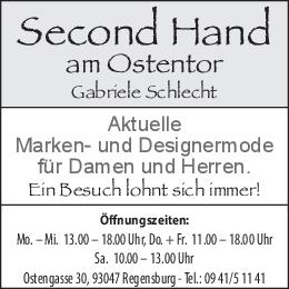 Banner Second Hand Ostentor Mai 2020
