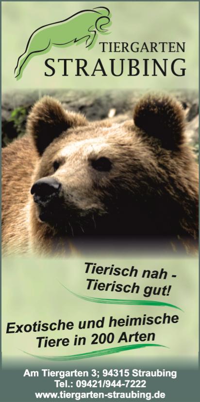 Banner Tiergarten Straubing August 2020