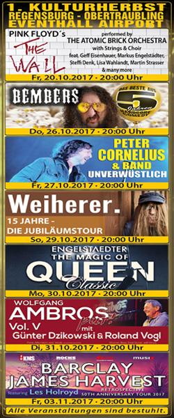 1. Kulturherbst Regensburg - Obertraubling