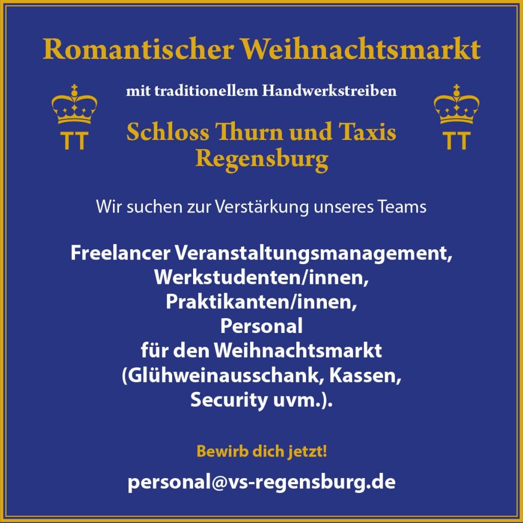 Banner VSR Personal gesucht Oktober 2020
