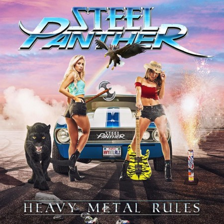 CD-Kritik | Steel Panther – Heavy Metal Rules