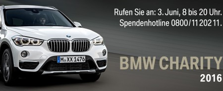 BMW Charity-Spendentag