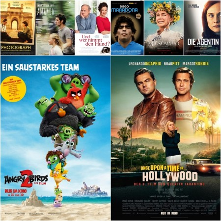 Neu im Kino | Once Upon a Time in Hollywood, Angry Birds 2, Midsommar u. v. m.